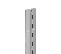 1 / Алюминиевый профиль с одиночной перфорацией (L-2400мм)
