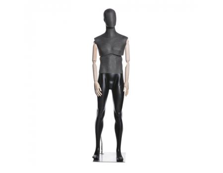 Atelier M-01 /Манекен мужской (с подвижным торсом, деревянными руками)