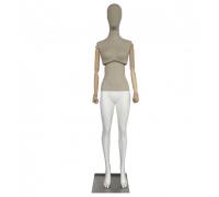 Atelier F-01 /Манекен женский (с подвижным торсом, деревянными руками)