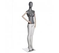 Atelier F-02 /Манекен женский (с подвижным торсом, деревянными руками)