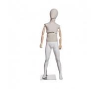 Atelier K-01 /Манекен детский (с подвижным торсом, деревянными руками)