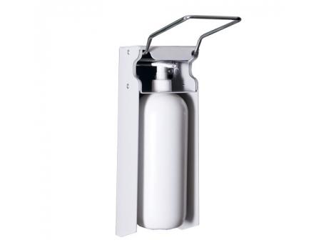 DAN-4 K-1 /Дозатор антисептика настенный локтевой (в комплекте держатель настенный и флакон 1000мл)