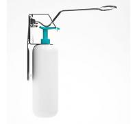 DAN-2 K-1 /Дозатор антисептика настенный локтевой (в комплекте держатель настенный и флакон 1000мл)