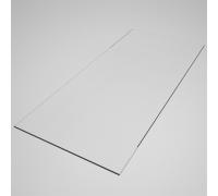 GLPR 42 Полка стекло для рамы 1200х400 мм