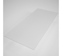 GLPR 42 Полка матовое стекло для рамы 1200х400 мм