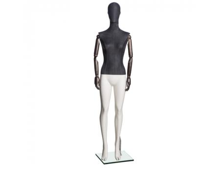 Jeans F-01 /Манекен женский (с деревянными руками)