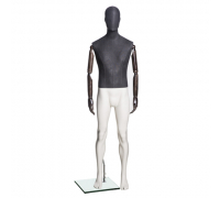 Jeans M-02 /Манекен мужской (с деревянными руками)