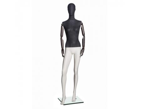 Jeans F-03 /Манекен женский (с деревянными руками)