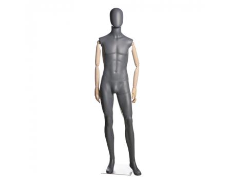 John 01 /Манекен мужской (с деревянными руками)