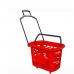 PLB-011 /Корзина – тележка пластиковая, 38 л