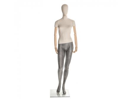 Linen F-01 /Манекен женский (с деревянными руками)