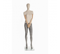 Linen F-02 /Манекен женский (с деревянными руками)