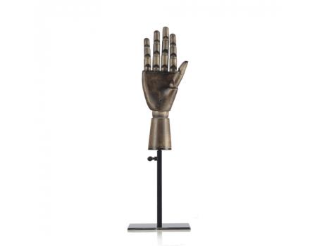 H-06B /Манекен руки на подставке (деревянный)