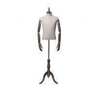 Originals 03 /Торс мужской, без головы (на деревянной подставке, с деревянными руками)