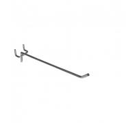 S 291 /Крючок одинарный на перфорацию (L-150, d-4мм, шаг 25мм)