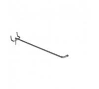 S 292 /Крючок одинарный на перфорацию (L-200, d-4мм, шаг 25мм)