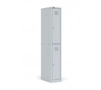 Шкаф для раздевалок, односекционный металлический, ШРМ-12