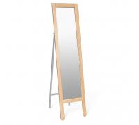 Зеркало напольное Альберо SHT-М1 Sheffilton прозрачный лак