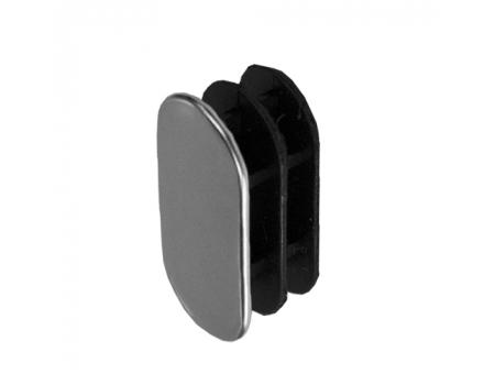 3015 /Заглушка для овальной трубы 30х15х1,0 (пластик)