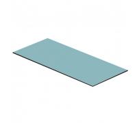 Полка стеклянная 1220х550х8мм (для вешала 62)