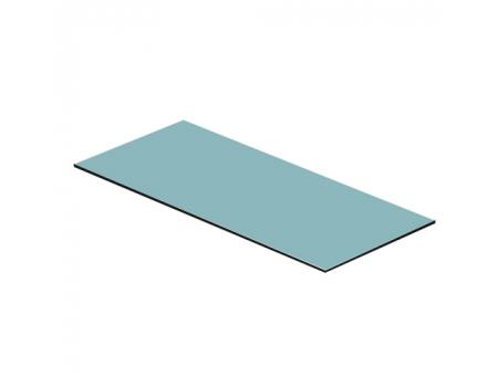 Полка стеклянная 1400х600х8мм (для вешала 61)