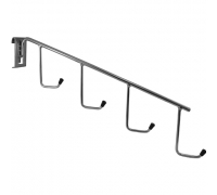TZ 112 Наклонная вешалка с 4-мя крючками