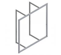 D120120 /Рама подвесная (1282х1282х480 мм)