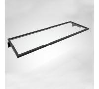 FIT006A / Полка в раме (600х355 мм, стекло прозрачное)