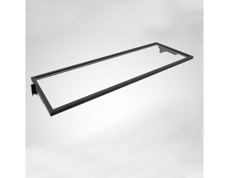 FIT006C / Полка в раме (1200х355мм, стекло прозрачное)