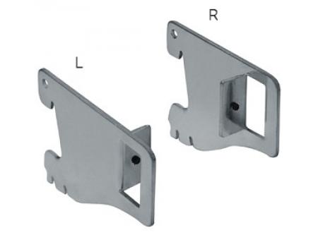 GL 57L.HL /Держатель прямоугольной трубы (левый, L-50)