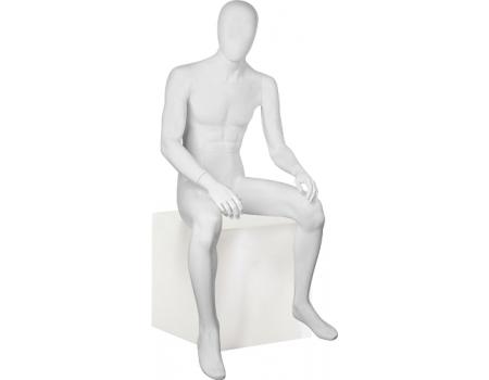 Glance Matte 10 /Манекен мужской, сидячий
