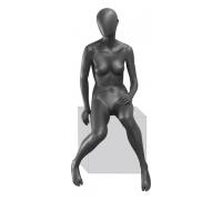 GREY 05F-03M /Манекен женский, сидячий