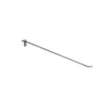 HP 298 /Крючок одинарный на прямоуг. трубу 30х15мм (L-500, d-9 мм)