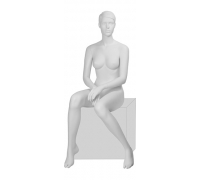 IN-10Sheila-01M /Манекен женский, сидячий, скульптурный