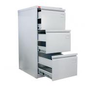 Картотечный металлический шкаф для хранения документов КР-3