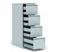 Картотечный металлический шкаф для хранения документов КР-4