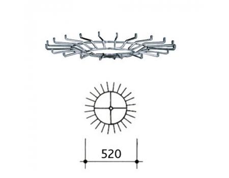 266 G /Круг от вешала для ремней