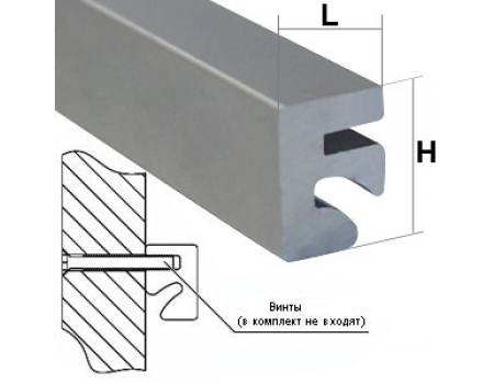 SQ 1001 / Алюминиевый профиль L-3000mm