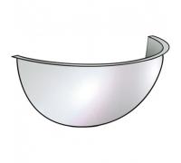 CMD(U)-60H /Зеркало обзорное, пристенное (1/4 сферы, d-60см)