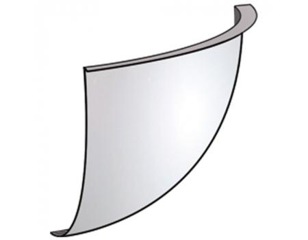 CMD(U)-60Q /Зеркало обзорное, угловое (1/8 сферы от d-60см)