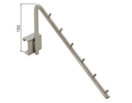 HP-45 /Держатель наклонный 6 зацепов (L=250мм) для HP-8