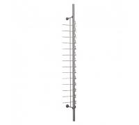 KTC-001S(L) /Стойка для очков с креплением к стене (с замком) 14 оправ