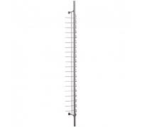 KTC-001S(L) /Стойка для очков с креплением к стене (с замком) 20 оправ