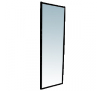 OMMP 002 Зеркало настенное (краш., черн.) 1600х500