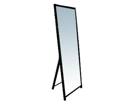 OMMP 001 Зеркало напольное (краш., черн.) 1650х500