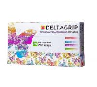 Перчатки одноразовые эластомер Deltagrip 200 шт M/L