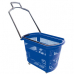 PLB-010 /Корзина – тележка пластиковая, 32 л