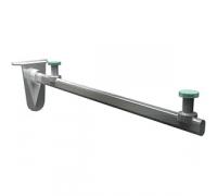 ASP 308 / Полкодержатель для стеклянной полки 7.5х15 L-335мм