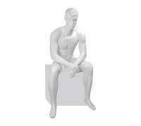 Tom Pose 06 /Манекен мужской, скульптурный, сидячий