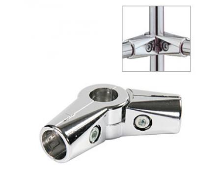 UNO 022 (d-32мм) / Соединитель (перпендикулярный 3-х труб, поворотный)
